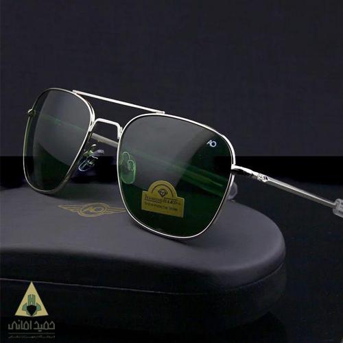 عینک Ao مدل خلبانی شیشه سبز