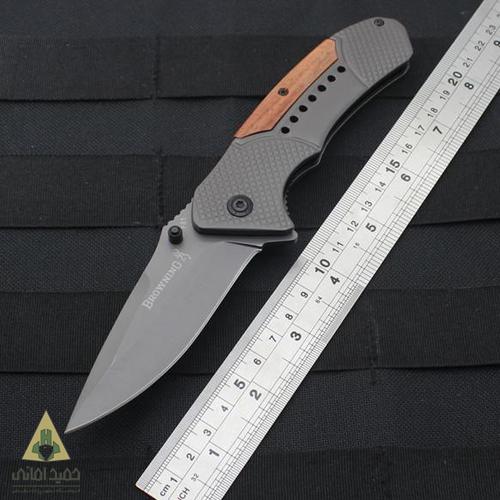 چاقو برونینگ مدل داخل دسته سوراخ دار