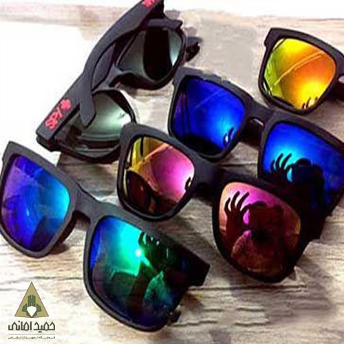عینک دودی کوهنوردی spy مدل تاشو