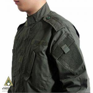 لباس تاکتیکال 5.11 مدل یقه چسبی پارچه شطرنجی