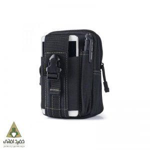 کیف کمری تاکتیکال مدل سه زیپ